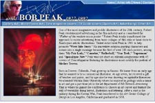 Bob Peak Screenshot...